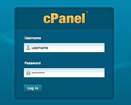 Mengakses cPanel
